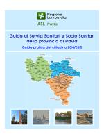 Guida ai Servizi Sanitari e Socio Sanitari della provincia
