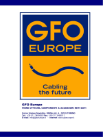 company profile - Gfo Europe S.p.A.