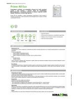 Primer ad eco - the Kerakoll products area