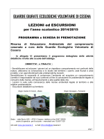 GUARDIE GIURATE ECOLOGICHE