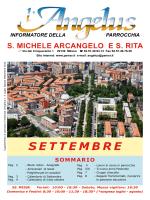 SETTEMBRE - Parrocchia di S. Michele Arcangelo e S. Rita