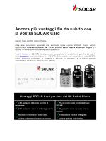 Ancora più vantaggi fin da subito con la vostra SOCAR Card