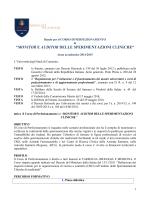 Bando - Università degli Studi di Camerino