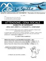 Spillo 1-2013 - Gruppo Aeromodellisti Rovereto