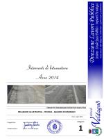 Interventi di bitumatura Anno 2014