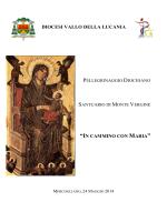 Libretto pellegrinaggio - Diocesi di Vallo della Lucania