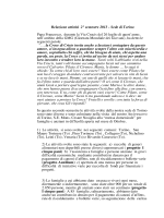 Scarica la relazione del secondo semestre 2013