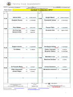 martedì 2 settembre 2014 - Tennis Club Ospedaletti
