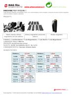 scheda tecnica MagFilm (gomma magnetica in plasto