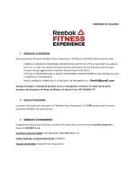 REEBOK FITNESS EXPERIENCE REGISTRATION