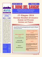 Il Dono del Sangue - Comune di Madignano