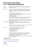 IDS Ingegneria Dei Sistemi S.p.A. www.idscorporation.com
