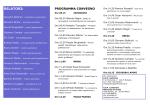 RELATORI: - Associazione grafologi professionisti