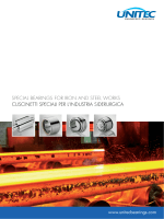 special bearings for iron and steel works cuscinetti - ICB-USA