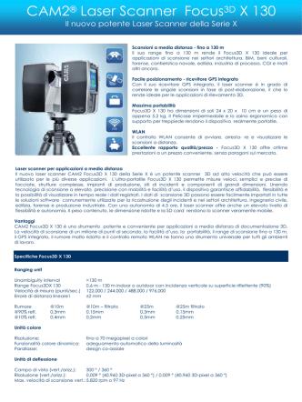 CAM2® Laser Scanner Focus3D X 130