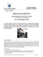 "Aggiornamento ANAG 2014 "" CARTOGRAFIA DIGITALE E GPS"" 18"