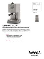 RI9301/01 Gaggia Macchina per caffè espresso manuale