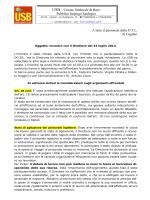 Comunicato su incontro del 24 Luglio 2014 - Sardegna