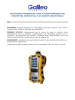 Dotazioni Strumentali per il monitoraggio dei parametri ambientali e
