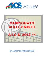 CAMPIONATO VOLLEY MISTO A.I.C.S. 2013-14