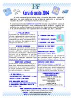 Corsi di cucito 2014 - Progetto Formazione