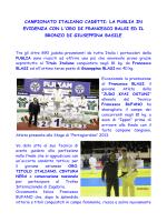 francesco blasi campione italiano cadetti 2014