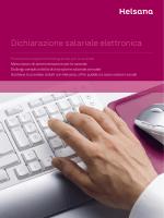 Dichiarazione salariale elettronica