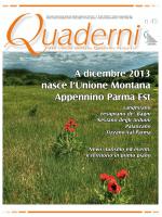 Quaderni n. 1 - Unione Montana Appennino Parma Est