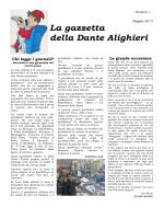 La gazzetta della Dante Alighieri - Scuola Dante Alighieri Volpiano