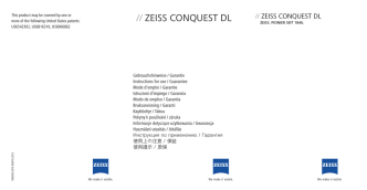 // Zeiss CONQUesT DL