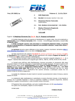 Prot. SP/0092/ca Palermo li, 21/01/2014 Al GUG