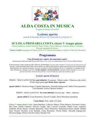 Classe Vtp Costa - Comune di Ferrara