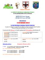 Locandina - FITArco, Comitato Regionale Lombardia