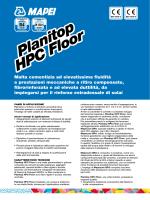 Planitop HPC Floor Planitop HPC Floor