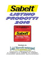 Listino prezzi - Luigi Moreschi motorsport