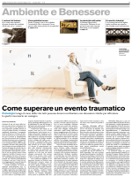Come superare un evento traumatico Psicologia