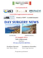 DAY SURGERY NEWS - Sanremo 24 maggio 2014