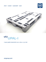 Pallet industriale UPAL-I - Utz Svizzera