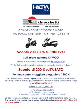 CONVENZIONE SCOOTER E MOTO