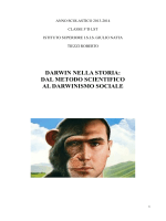 darwin nella storia: dal metodo scientifico al