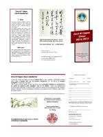 brochure cinese 2014.2015def - Centro di Cultura