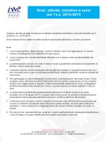 Corsi 2014-2015 - Istituto Leonardo Murialdo