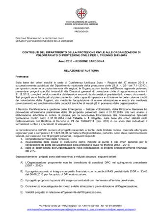 (sostituito il 25/03/2014) [file] - Regione Autonoma della Sardegna