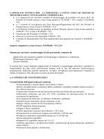 capitolato tecnico - Azienda Ospedaliera della Valtellina e della
