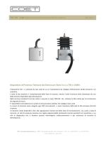 TCK 750 - 1500 Dispositivo di presenza tensione da esterno cat