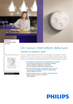 8718291790211 Philips Illuminazione wireless personale