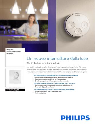 8718291790211 Philips Illuminazione wireless personale