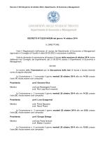 Decreto N°122_laurea_triennal_ott_2014