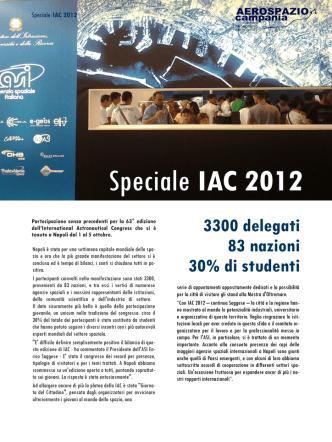 Aerospazio Campania Speciale IAC