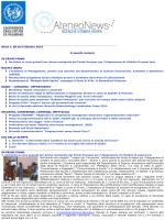 Newletter 6 Ottobre 2014